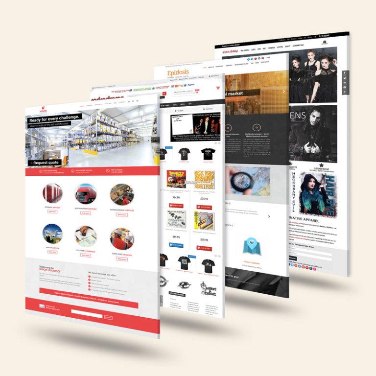 website design portfolio 3d