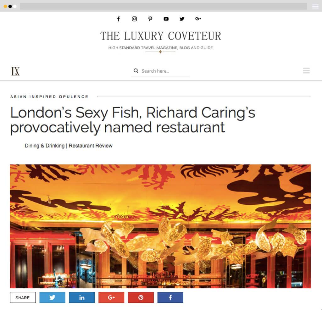 travel magazine website design blog